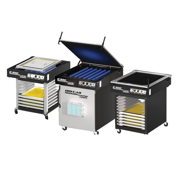 osvetljevalne naprave za sitotisk